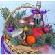Новогодние композиции, новогодние подарочные наборы и корзины