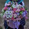 """Большая коробка с цветами """"Помпея"""""""