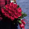 Голландские розы 15 штук на заказ