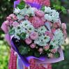 Букет с розами и ромашками Универсальный на заказ