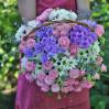 Корзина цветов Летний день купить с доставкой
