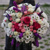 A large basket of flowers Cascade buy with delivery