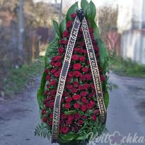 Траурная флористика: современные ритуальные венки