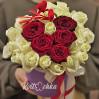 "Box of roses ""Valentine"" on Valentine's Day February 14"