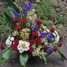 Большая цветочная корзина с орхидеями с доставкой в Киеве