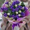 Весенний микс (ирисы+ тюльпаны) купить с доставкой