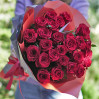 low 25 red roses