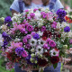Basket of flowers with delivery in Kyiv