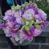 Коробка с цветами Весенний блюз купить с доставкой