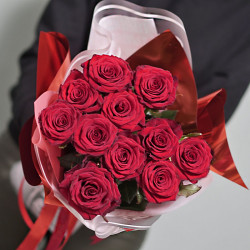 Bouquet of roses Grand Prix 11 pieces