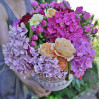 """A Big box with hydrangeas and garden roses """"July"""""""