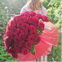 101 роза: доставка букетов из роз в Киеве