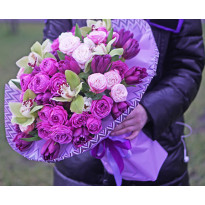 How to choose and order a bouquet of flowers to a man?