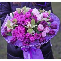 Как происходит заказ и доставка цветов в Киеве