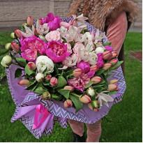 Профессиональная качественная услуга доставки цветов Kvitochka