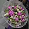 """Букет с пионами и орхидеями """"Весна"""""""