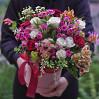 """Большая коробка цветов """"Восхищение"""""""
