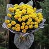 Букет 45 желтых высоких роз
