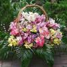 Корзина цветов с орхидеями Феличита купить с доставкой