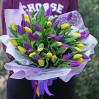 Букет 45 тюльпанов микс  на заказ в Киевской области