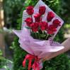 Dutch 9 high roses red
