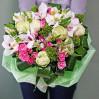Букет с пионовидными розами Муза купить недорого в Киеве