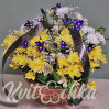 Buy cheap with delivery in Kiev funeral basket No. 17