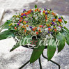Ритуальная композиция из живых цветов для возложения