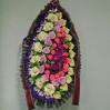 Траурный венок из искусственных цветов № Л11 с доставкой
