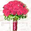Свадебный букет невесты из 17 алых роз