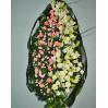 Похоронный венок с лилиями купить в Киеве с доставкой