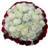 Bouquet of 51 roses 'Cloud 3'