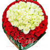 """Букет из 101 розы """"Облачко любви"""""""