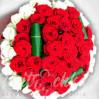 """Bouquet of 51 roses """"Облачко7"""""""