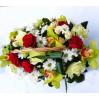 """Цветочная корзина с орхидеями """"Внимание"""""""