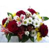 Небольшая корзина с цветами № 11