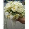 Букет невесты цвета айвори № 9