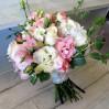 Букет невесты а бело-розовых тонах № 21