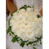 Букет невесты из белых роз № 30