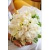 Букет невесты цвета айвори № 32