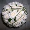 Букет невесты из кремовых роз №36
