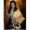 Плюшевый мишка + корзинка цветов с доставкой по Киеву