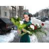 Букеты  вертикальные с доставкой в Киеве