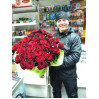 to Buy a bouquet of 101 roses in Kiev