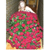 a Bouquet of 151 red roses high
