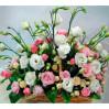 Корзина цветов Леди нежность купить с доставкой