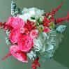 Букет с пионовидными розами и гортензиями с доставкой