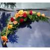 Украшение машины на свадьбу  №6