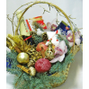 Christmas gift set in a basket buy in Kiev