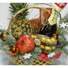 Новогодняя подарочная корзина №5 в Киеве с доставкой